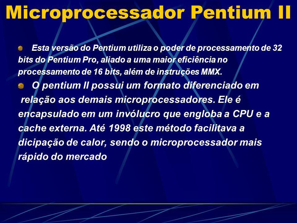 Esta versão do Pentium utiliza o poder de processamento de 32 bits do Pentium Pro, aliado a uma maior eficiência no processamento de 16 bits, além de instruções MMX.