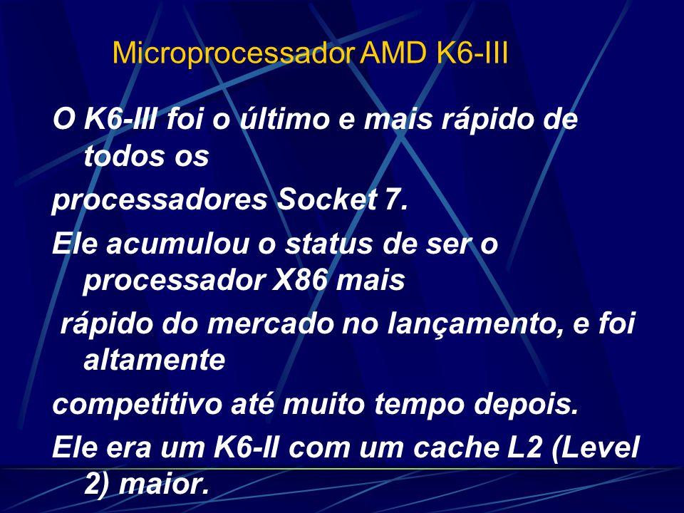 O K6-III foi o último e mais rápido de todos os processadores Socket 7.