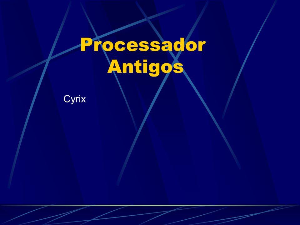 Cyrix Processador Antigos