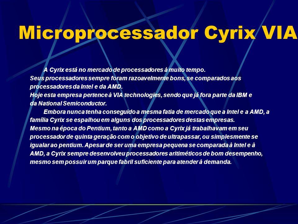A Cyrix está no mercado de processadores à muito tempo.