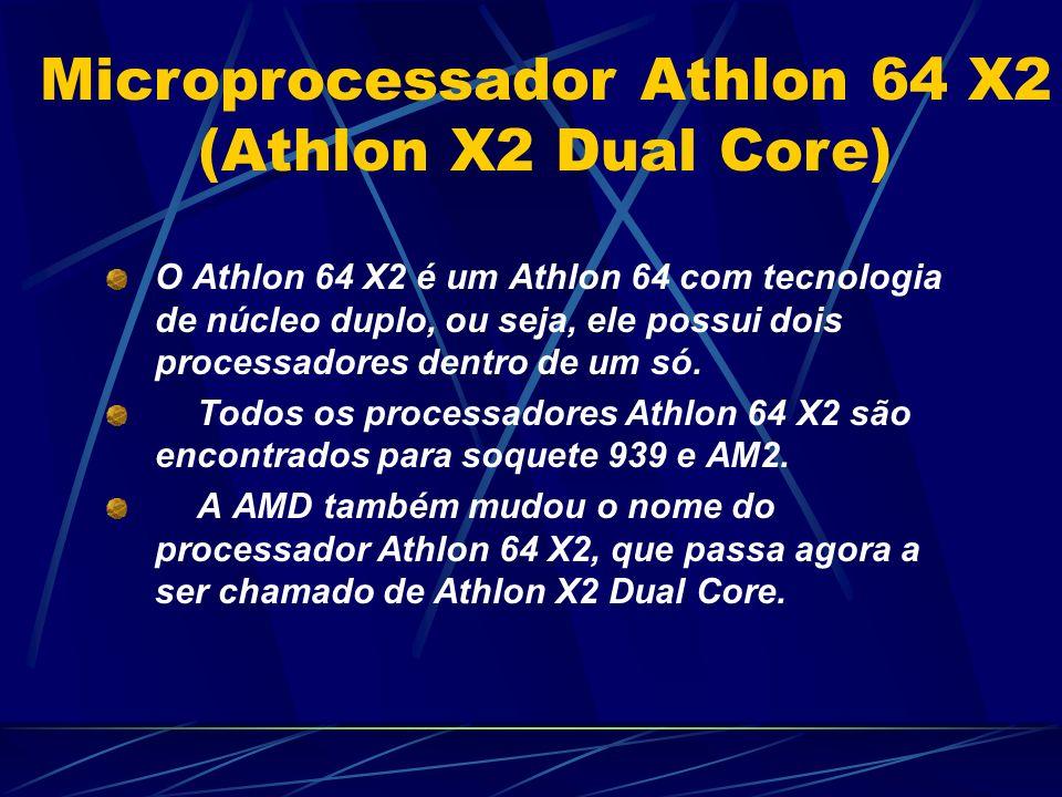 O Athlon 64 X2 é um Athlon 64 com tecnologia de núcleo duplo, ou seja, ele possui dois processadores dentro de um só.