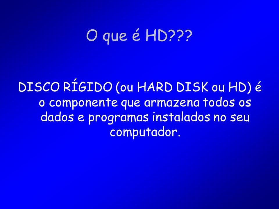 O que é HD??.