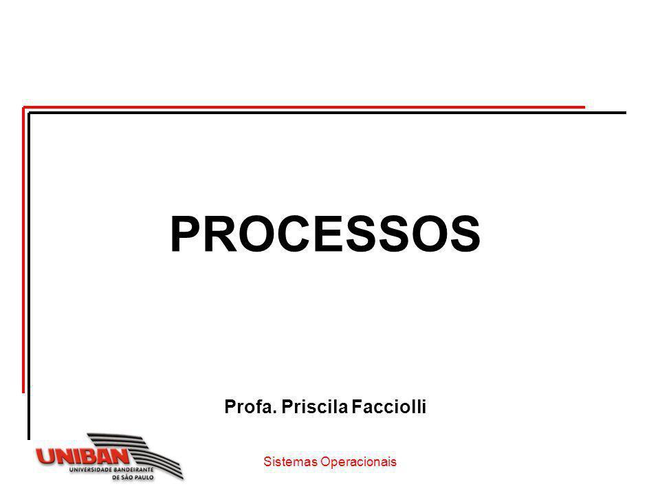 Sistemas Operacionais Sumário O que é processo.