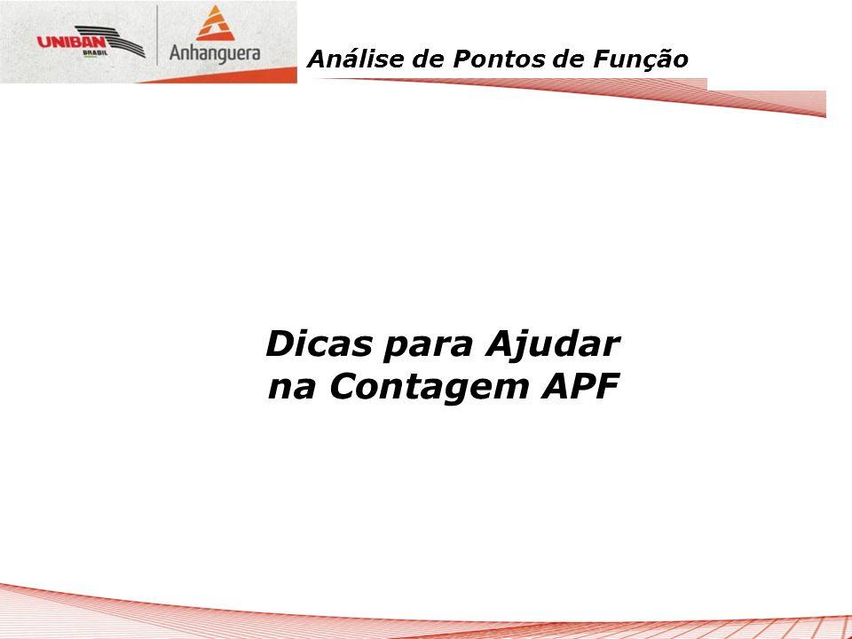 Análise de Pontos de Função Dicas para Ajudar na Contagem APF