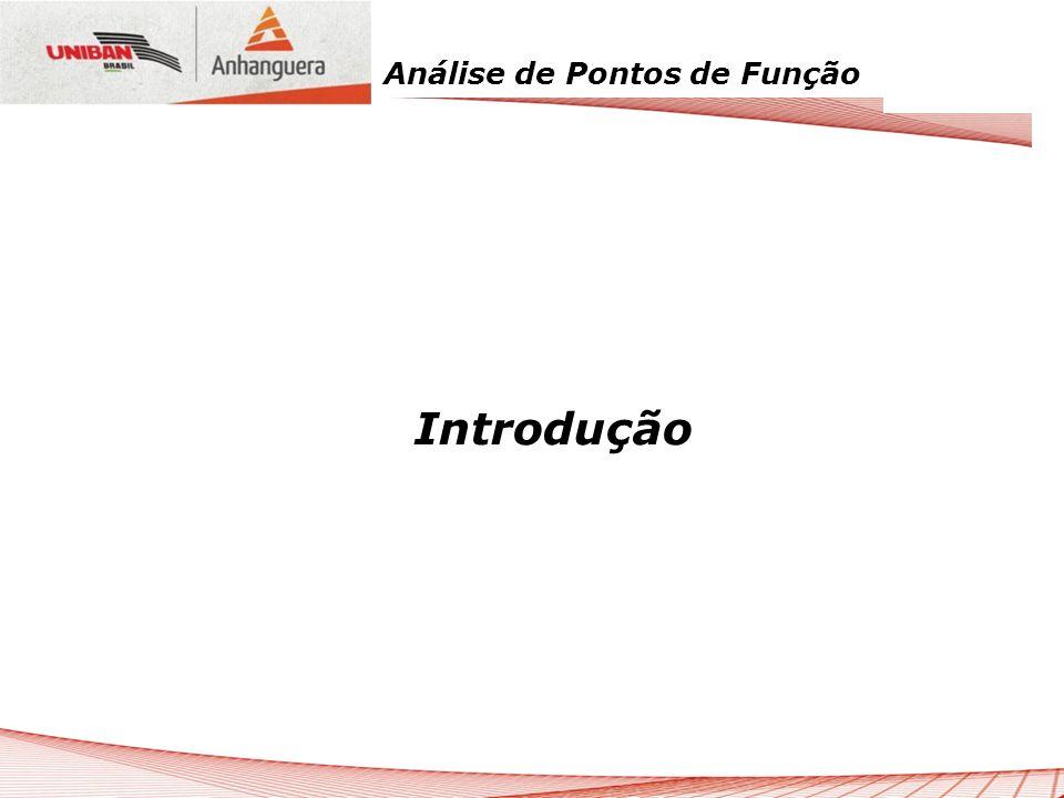 Análise de Pontos de Função IFPUG – Manual de Práticas de Contagem
