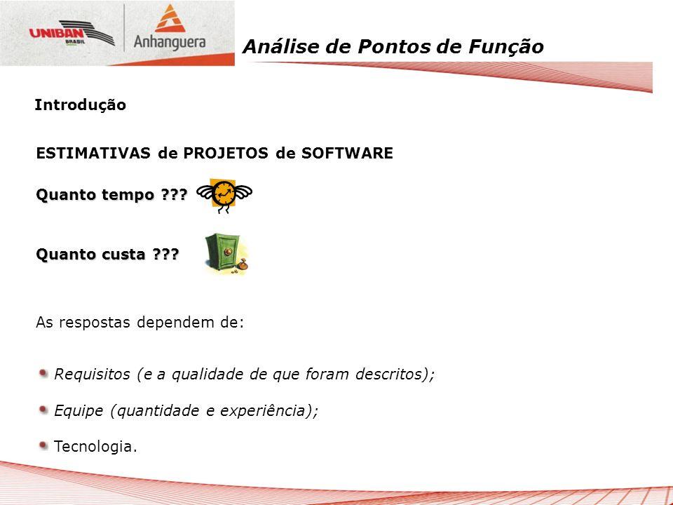 Análise de Pontos de Função 12.