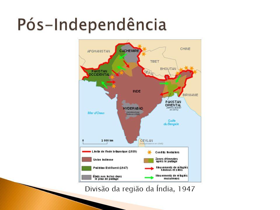 Divisão da região da Índia, 1947
