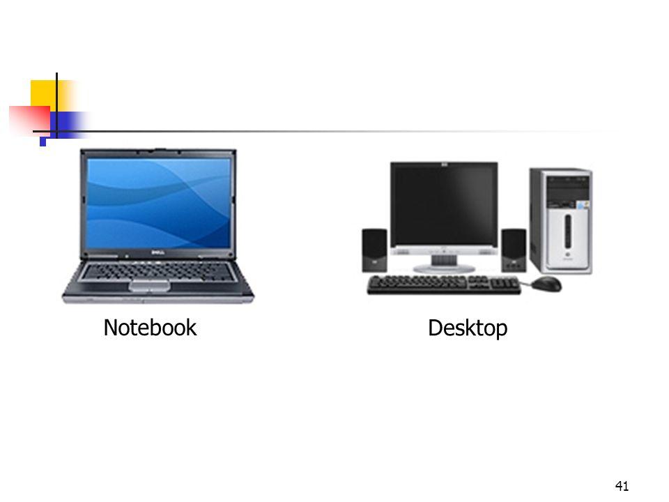 41 Notebook Desktop