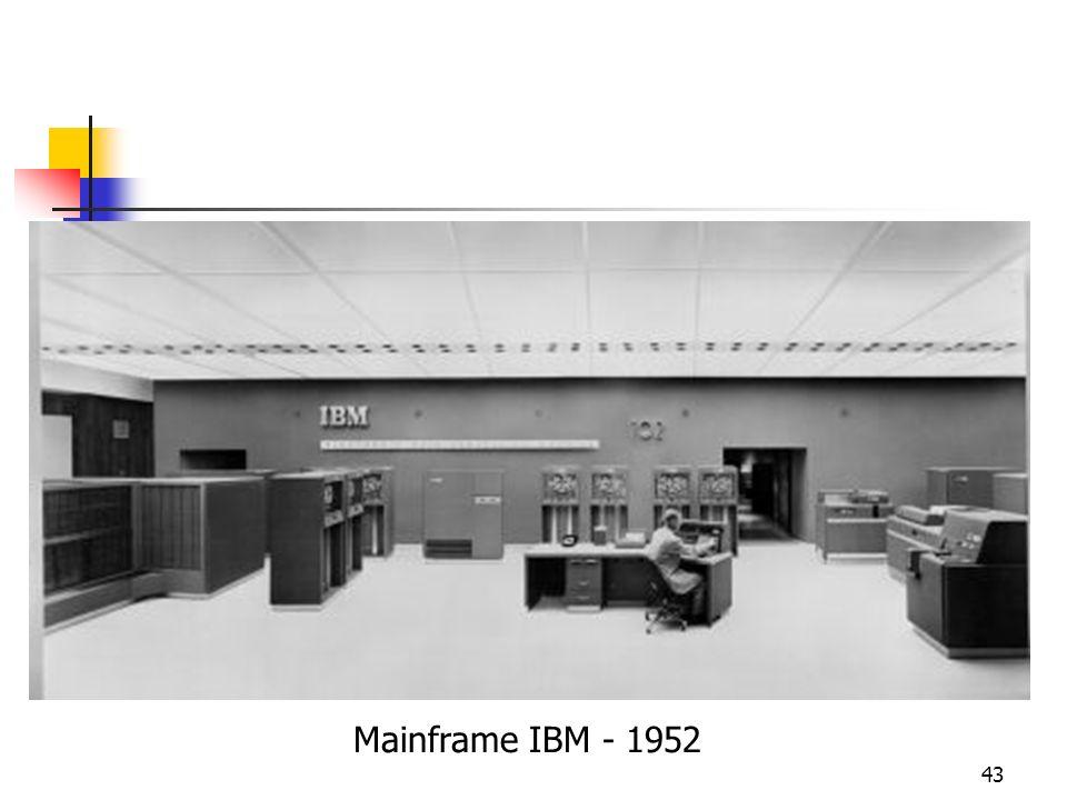 43 Mainframe IBM - 1952