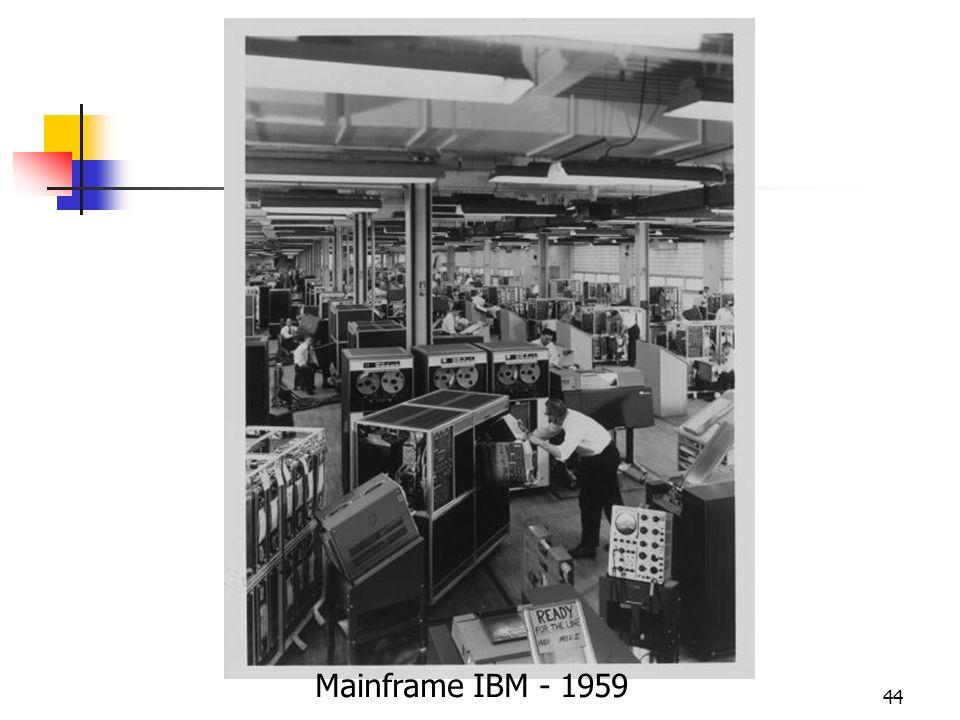 44 Mainframe IBM - 1959
