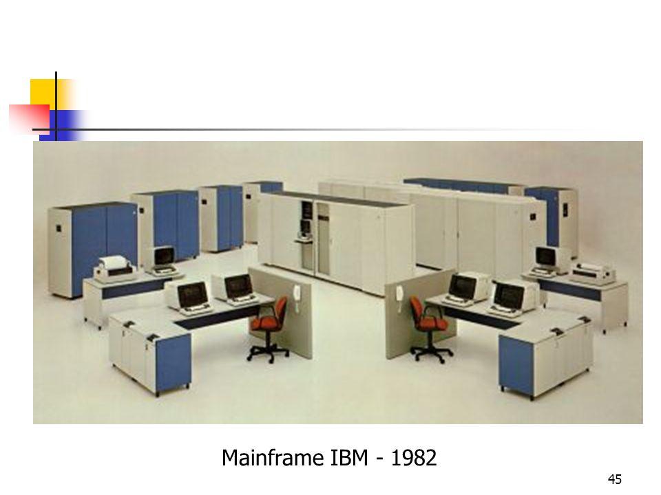 45 Mainframe IBM - 1982