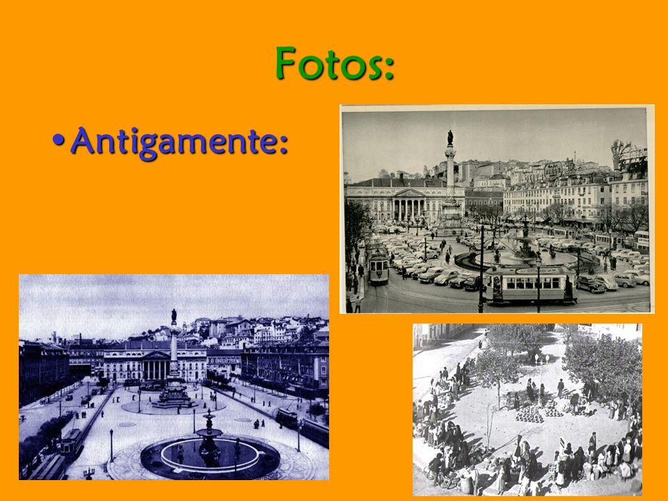 Fotos: Antigamente:Antigamente: