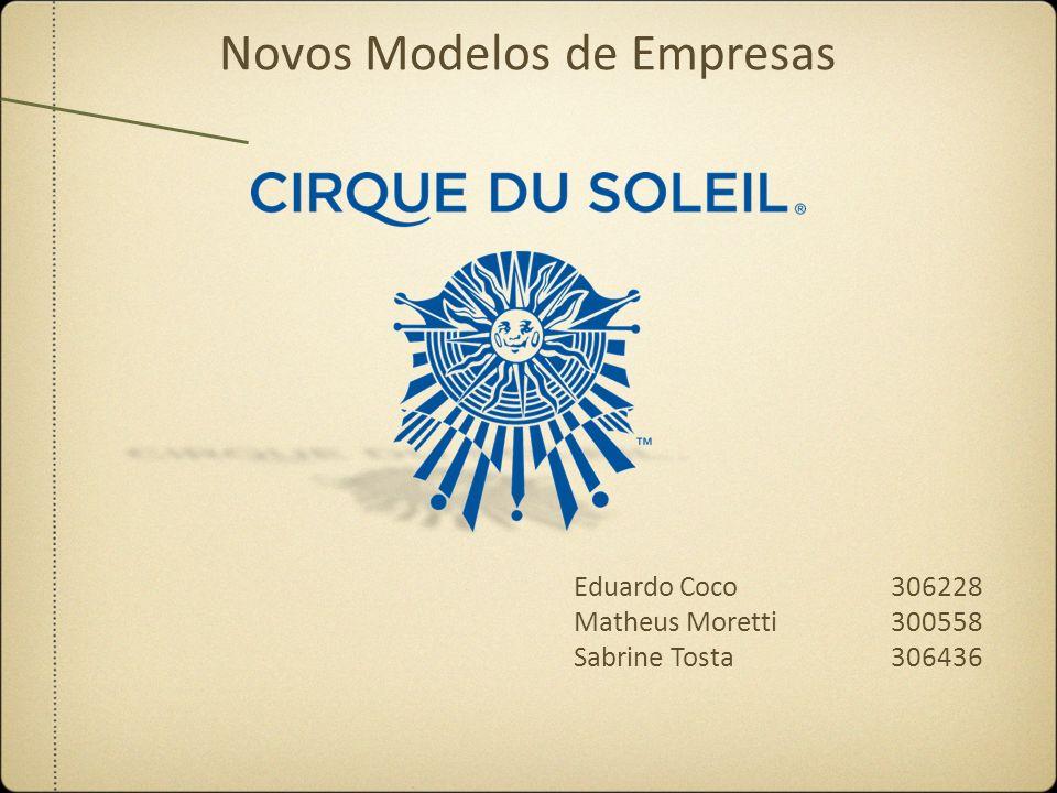 Eduardo Coco306228 Matheus Moretti 300558 Sabrine Tosta306436 Novos Modelos de Empresas