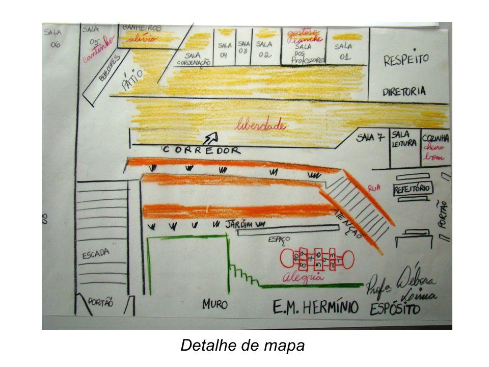 Tadakio Sakai Detalhe de mapa