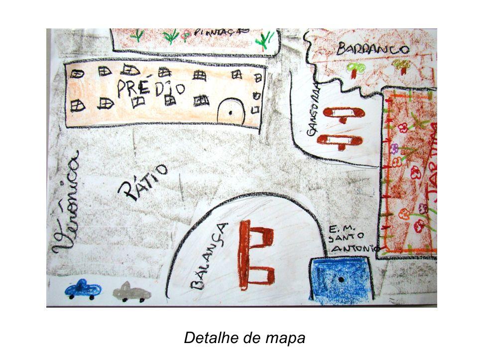 Detalhe de mapa