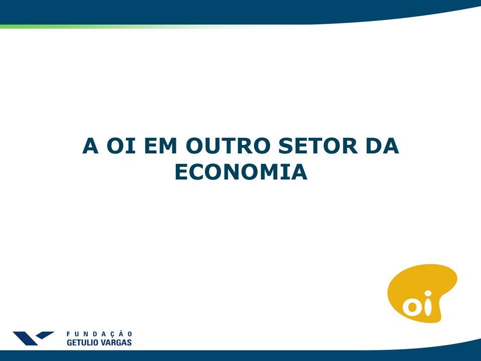 A OI EM OUTROS SETOR DA ECONOMIA A OI EM OUTRO SETOR DA ECONOMIA