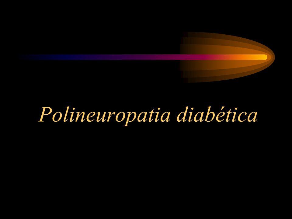 Polineuropatia Diabética A diabetes mellitus é uma das causas mais frequentes de neuropatia no mundo.