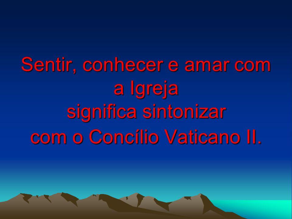 23 A intenção do Concílio eminentemente pastoral: reler e interpretar o evangelho para os dias atuais.