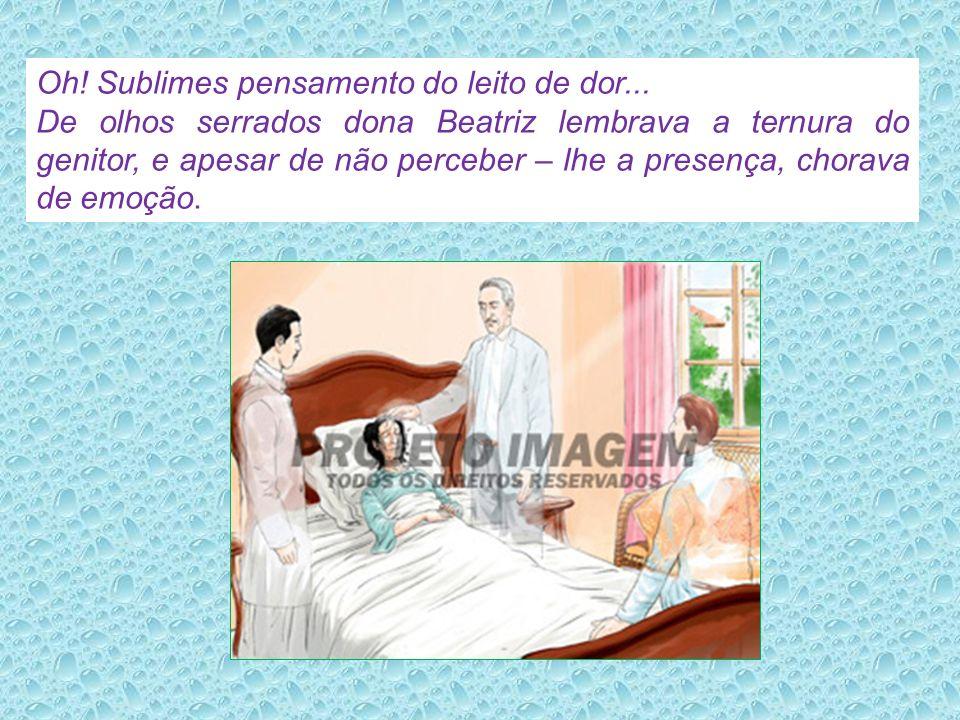 Neves apresenta André à Amaro dedicado enfermeiro e amigo que auxiliaria nos trabalhos de assistência a dona Beatriz, que sentia dores agudas.