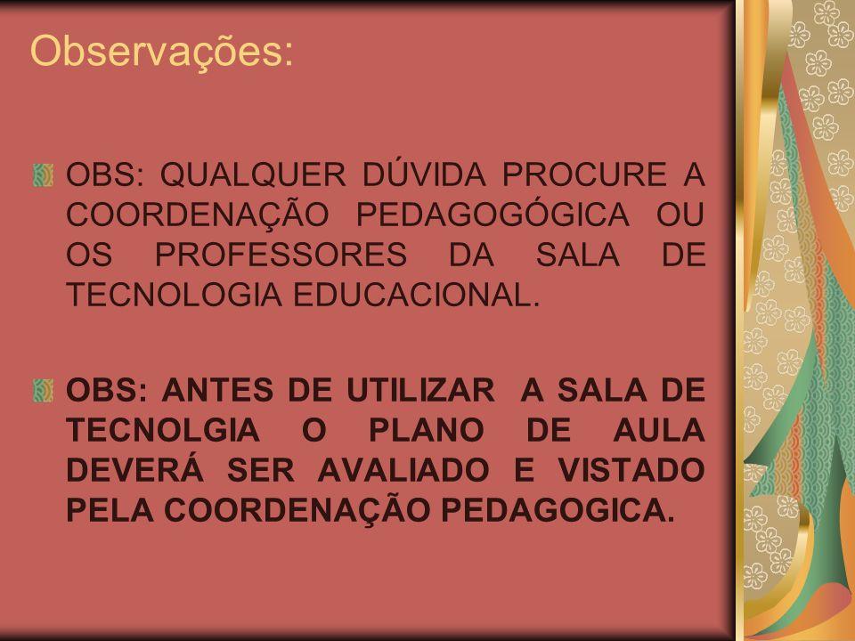 Sites sugeridos para elaborar planos de aula e preparar aulas www.portaldoprofessor.gov.br www.sed.ms.gov.br www.novaescola.com.br http://catalogocolaborativo.wikispaces.com/ www.angelinatebet.wikispaces.com/ Orkut da escola: escolaangelinatebet@yahoo.com.br escolaangelinatebet@yahoo.com.br Email da STE- eeajtebet_ste@hotmail.com eeajtebet_ste@hotmail.com