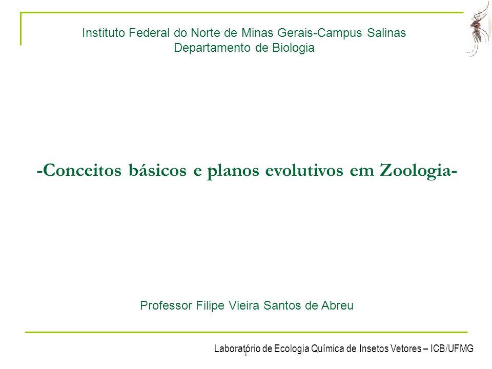 Laboratório de Ecologia Química de Insetos Vetores – ICB/UFMG 12 1- Conceitos básicos 4.