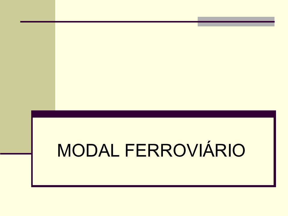 III - MODAL FERROVIÁRIO, RODOVIÁRIO, AEROVIÁRIO E DUTOVIÁRIO 32 MODAL FERROVIÁRIO Gargalos