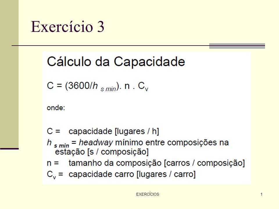 EXERCÍCIOS1 Exercício 3