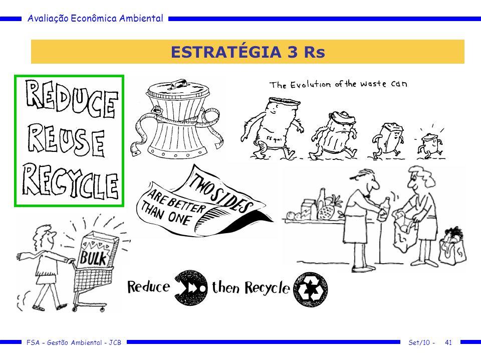 Avaliação Econômica Ambiental FSA – Gestão Ambiental - JCB Set/10 -41