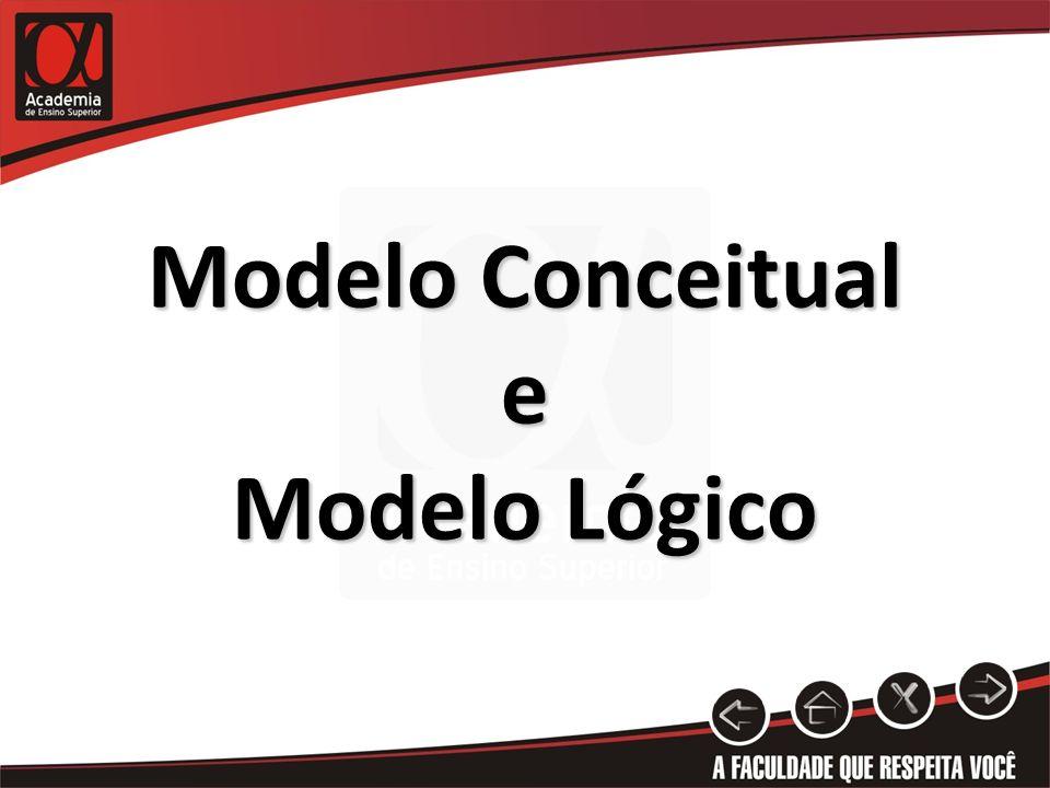 Modelo Conceitual e Modelo Lógico