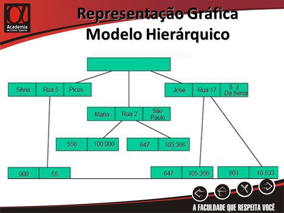 Representação Gráfica Modelo Hierárquico