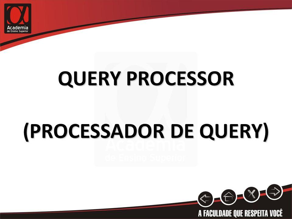 QUERY PROCESSOR (PROCESSADOR DE QUERY)