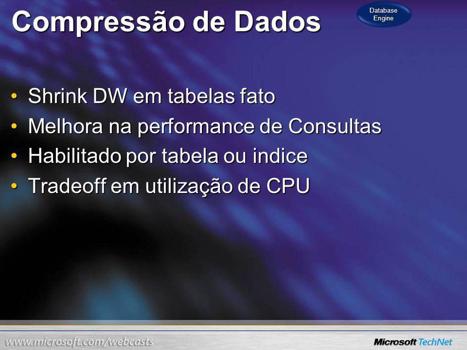 Data Compression Database Engine