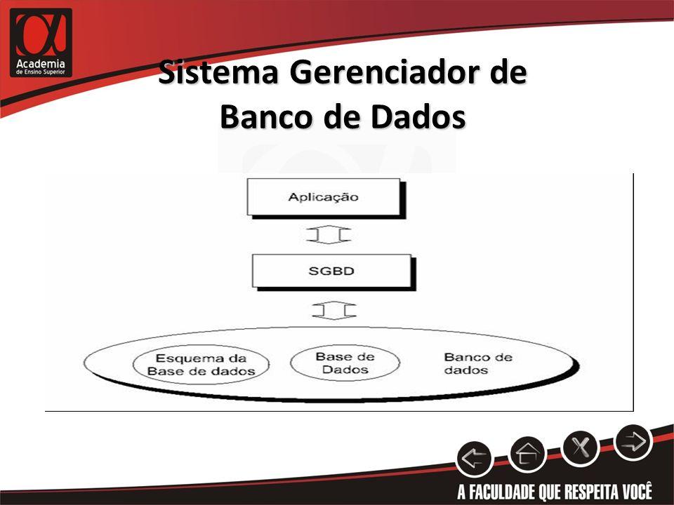 Sistema Gerenciador de Banco de Dados