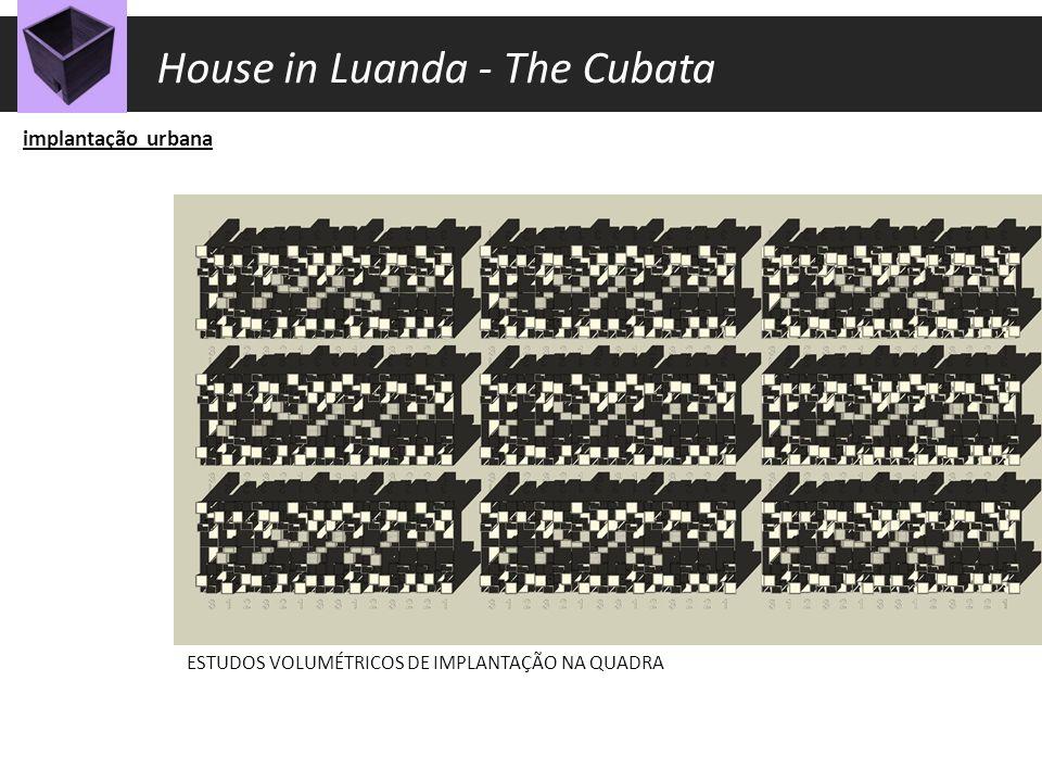 construção DETALHES CONSTRUTIVOS House in Luanda - The Cubata