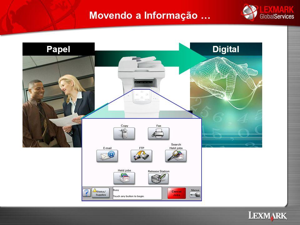 CQ Indexação Preparação Digitalização Banco de Dados Índice Banco de Imagens Ambiente de Digitalização e Indexação Método Convencional de Digitalização