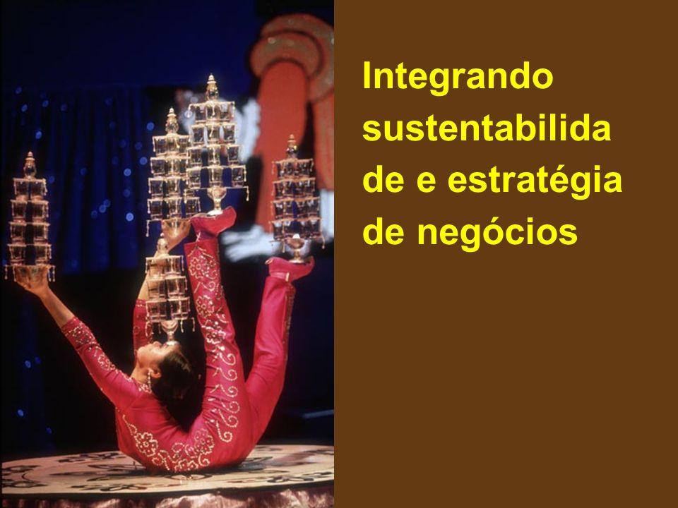 Integrando sustentabilida de e estratégia de negócios