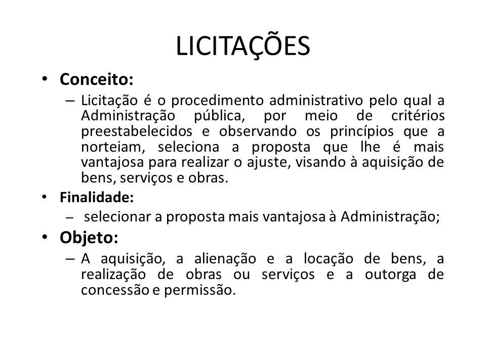 REQUISITOS PARA INSTARAUÇÃO DA LICITAÇÃO OBRAS (Art.