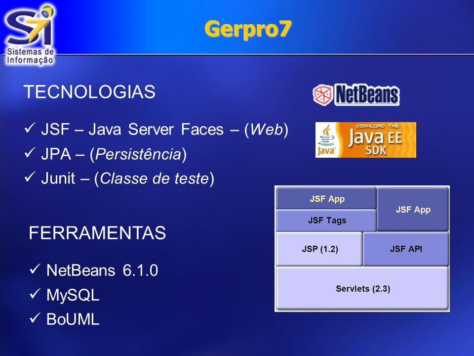 Gerpro7 Dificuldades Equipe muito grande Somente uma pessoa com conhecimento em Java Problemas na configuração das máquinas do lab 31