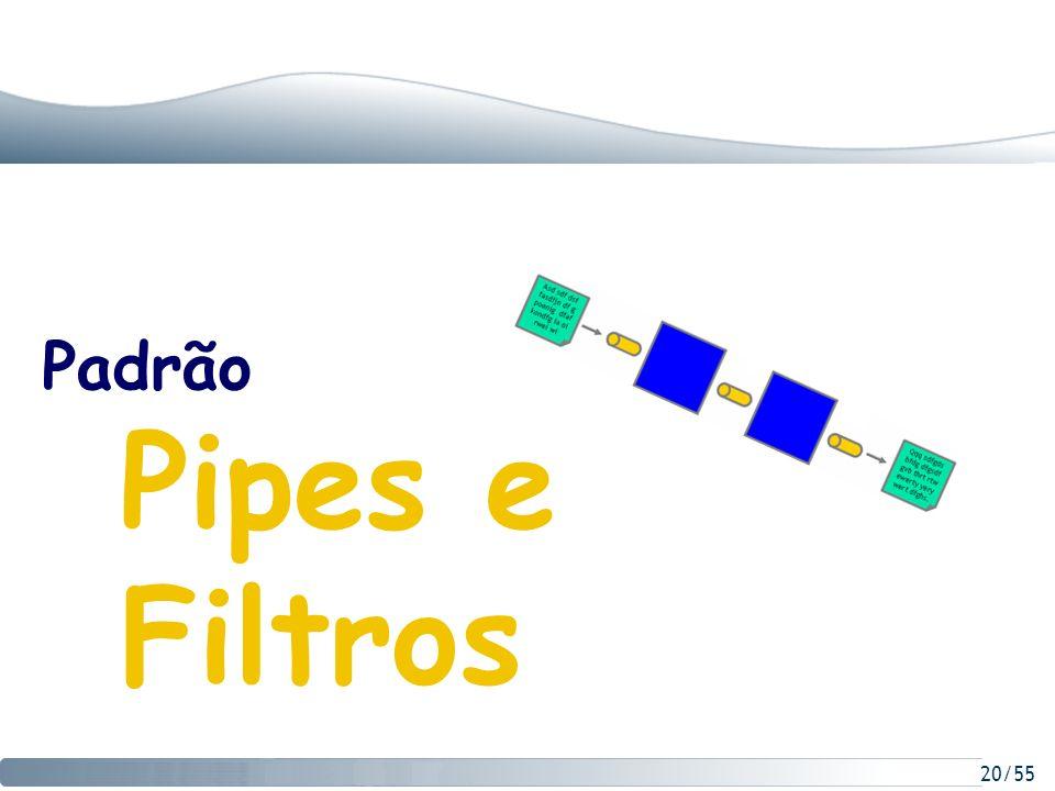 20/55 Padrão Pipes e Filtros