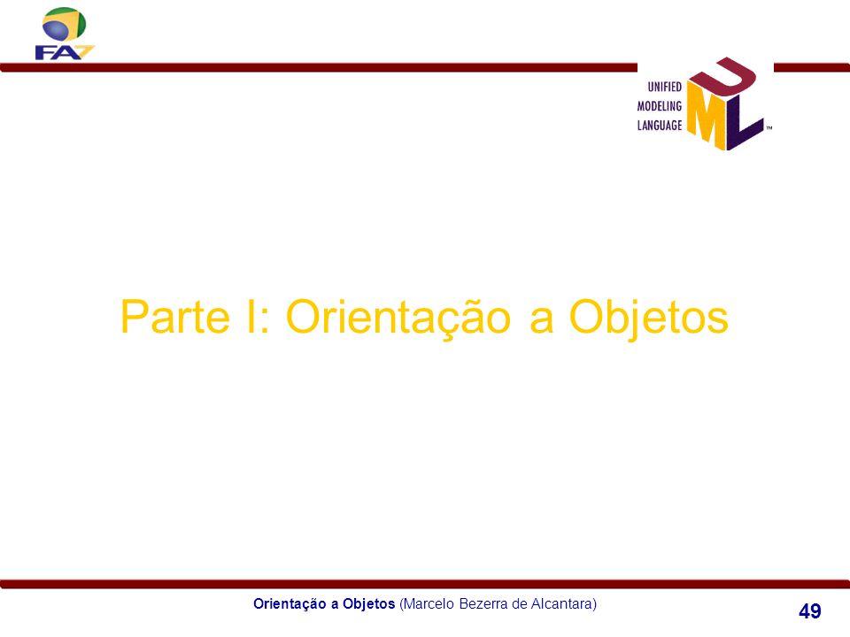 Orientação a Objetos (Marcelo Bezerra de Alcantara) 49 Parte I: Orientação a Objetos Módulo 3 Relacionamentos