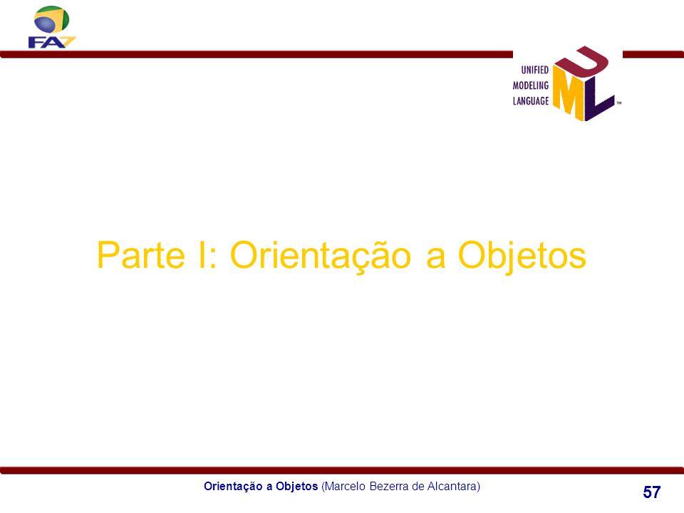 Orientação a Objetos (Marcelo Bezerra de Alcantara) 57 Parte I: Orientação a Objetos Módulo 4 Herança e Polimorfismo