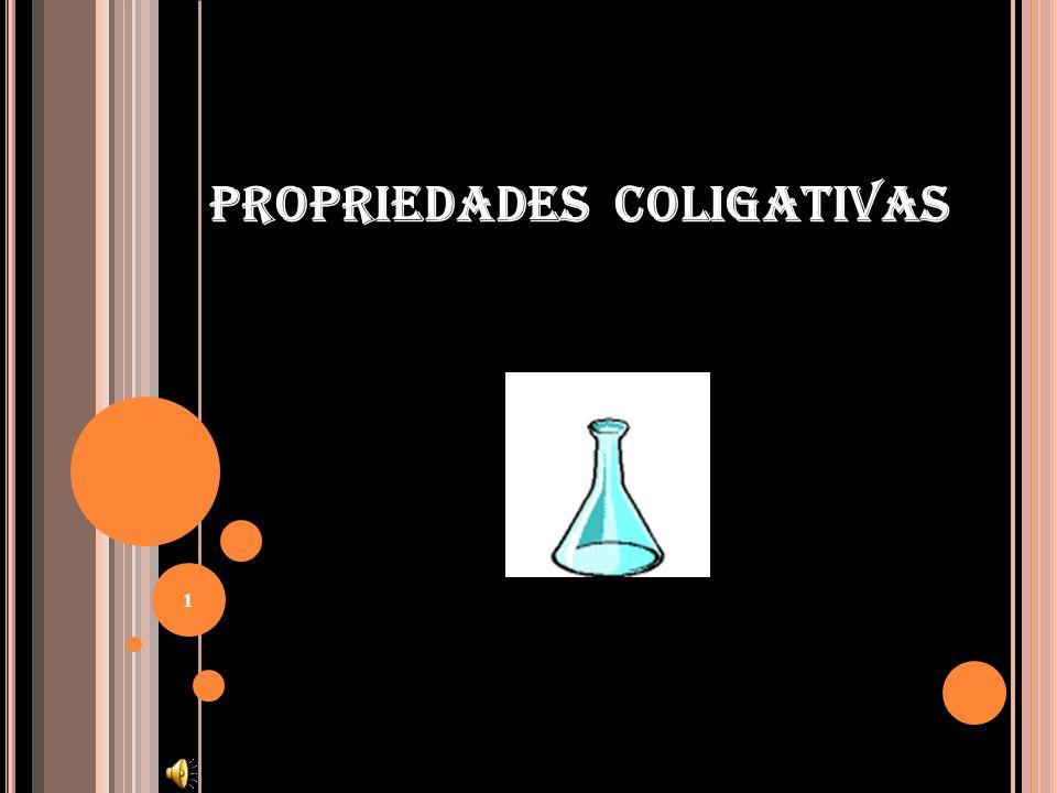 PROPRIEDADES COLIGATIVAS 1