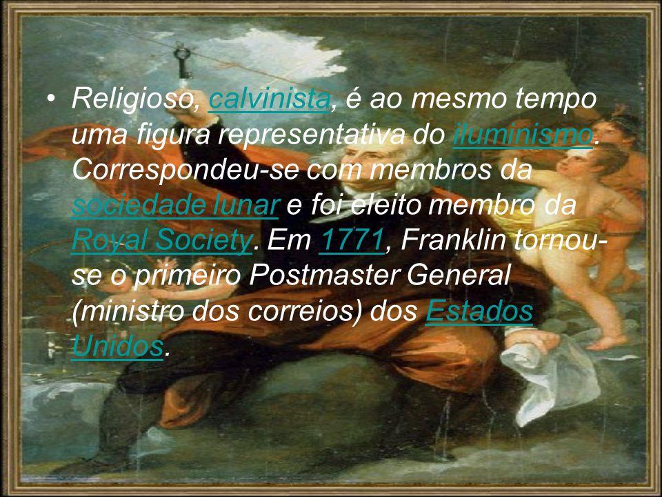Religioso, calvinista, é ao mesmo tempo uma figura representativa do iluminismo.