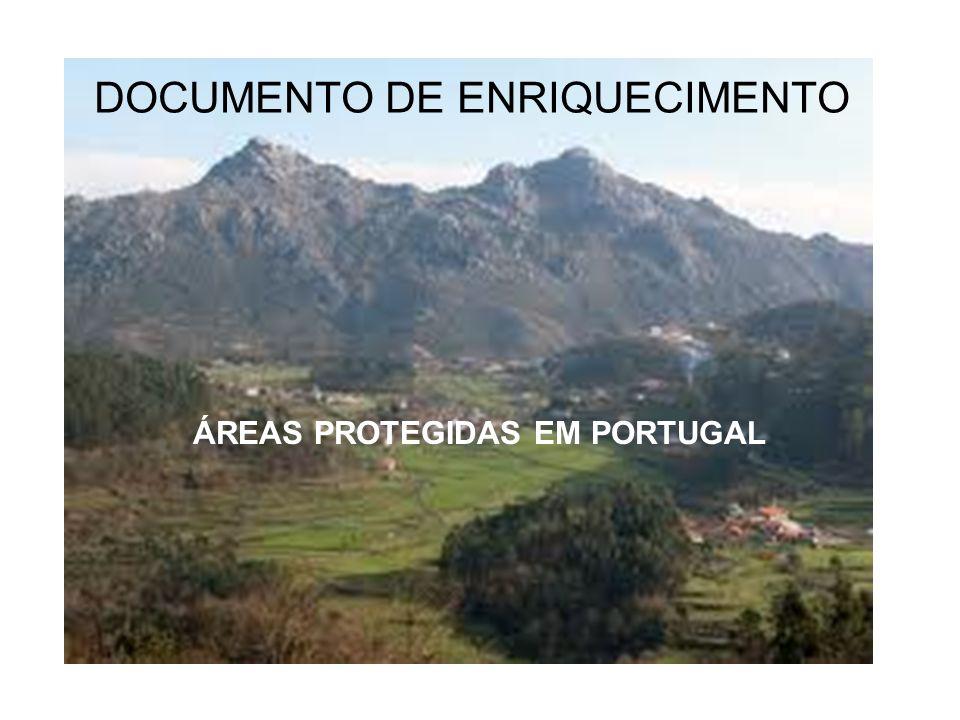 DOCUMENTO DE ENRIQUECIMENTO ÁREAS PROTEGIDAS EM PORTUGAL