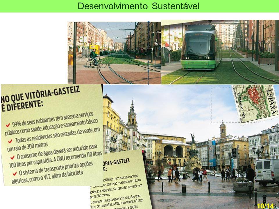 11 Capital verde N º EDI Ç ÃO: 723 | 11.AGO.11 - 21:00 A pol í tica de sustentabilidade adotada pelas sucessivas administra ç ões de Vit ó ria-Gasteiz