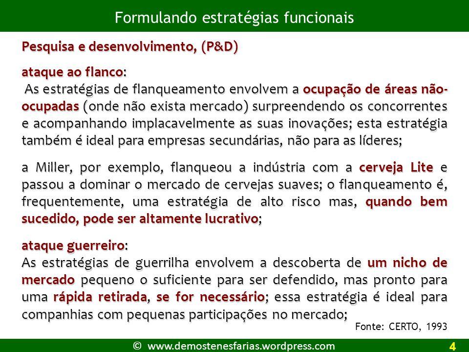 © www.demostenesfarias.wordpress.com Ambiente interno: recursos da empresa, missão e objetivos 1 *