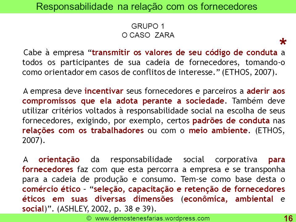 www.demostenesfarias.wordpress.com Tudo o que é legal é ético .