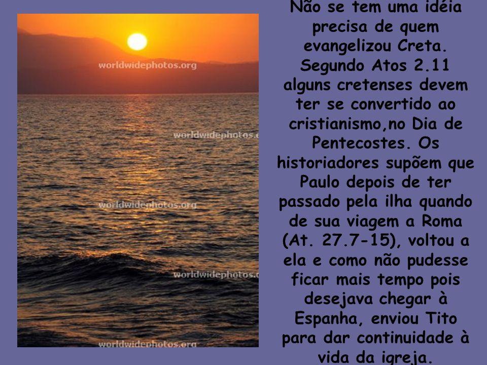 Introdução (I) A carta de Paulo a Tito é uma visão atual do que é o discipulado.
