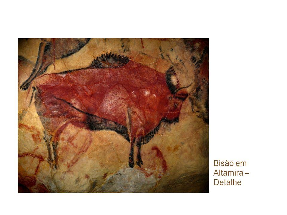 Bisão em Altamira – Detalhe