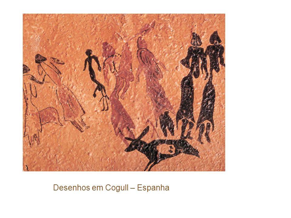 Desenhos em Cogull – Espanha